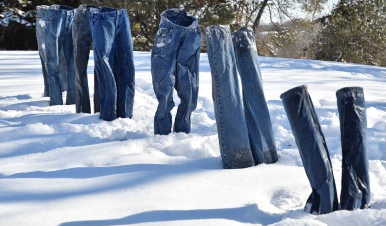 Minnesota's New Craze? Special Polar Vortex Frozen Jeans