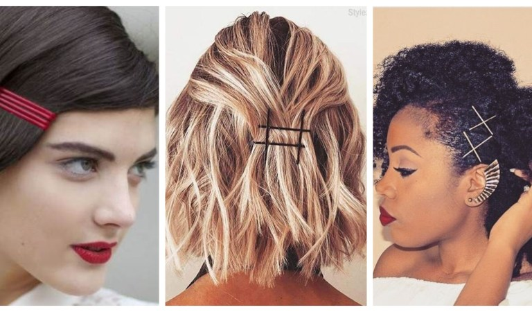 More Than One Groovy Ways To Put Those Bobby Pins In Your Hair
