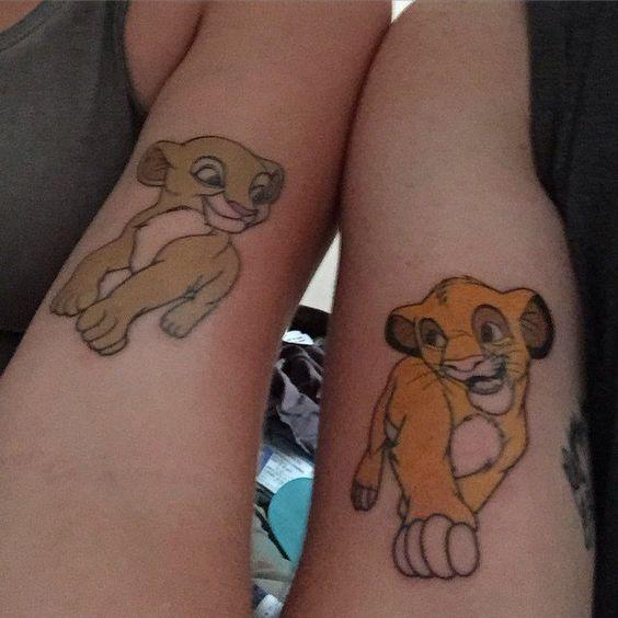 lion tattoo disney