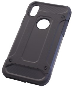 iPhone X Black Armour Cover Case