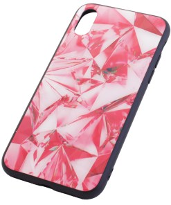 iPhone X Crystal Red Cover Case