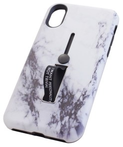 iPhone X White Marble Cover Case