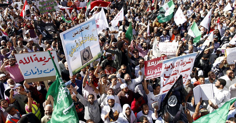 مظاهرات للسلفيين في مصر