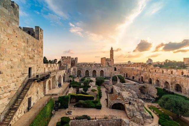 برج قلعة القدس