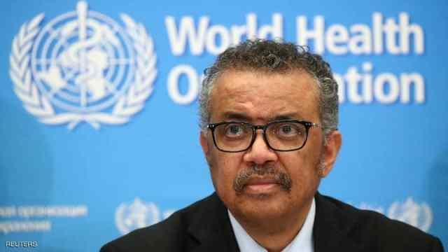 تيدروس أدهانوم غيبريسوس رئيس منظمة الصحة العالمية