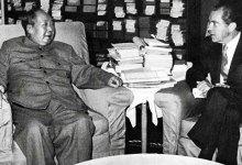 ريتشارد نيكسون وماو تسي تونغ