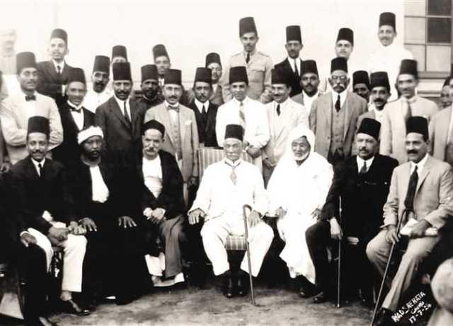 سعد زغلول وقيادات حزب الوفد
