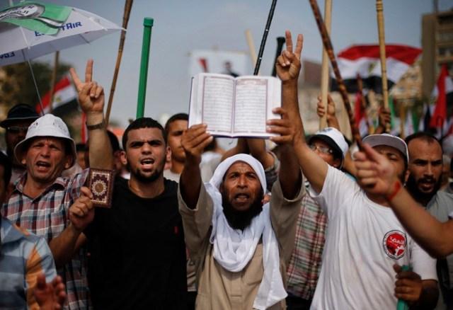 مظاهرات لأنصار الإخوان