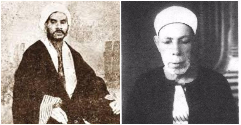 الشيخ درويش الحريري وعبد الرحيم المسلوب
