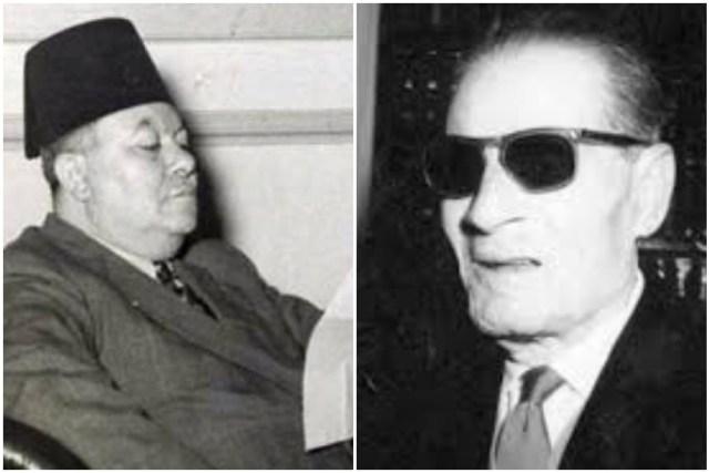 طه حسين وعبد الرزاق السنهوري