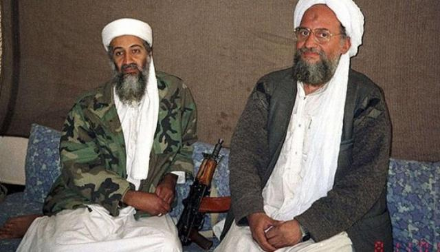 أيمن الظواهري وبن لادن