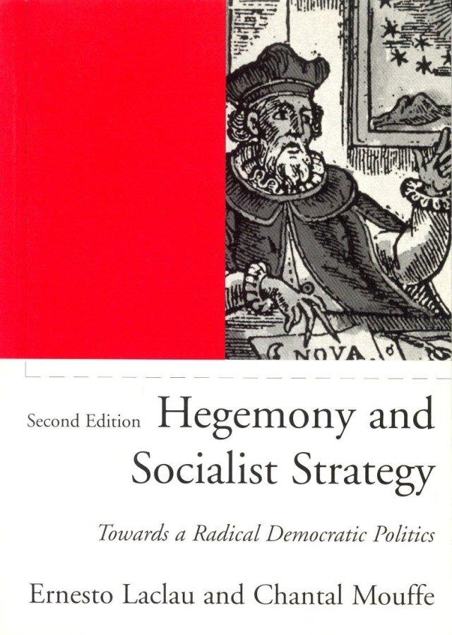 غلاف كتاب Hegemony and Socialist Strategy: Towards a radicalization of Democracy