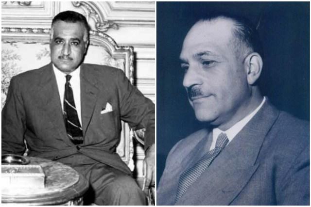 جمال عبد الناصر وفتحي رضوان