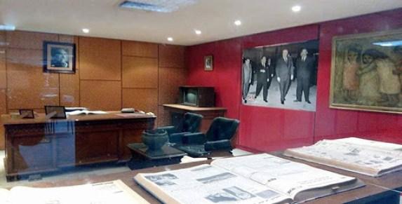 متحف هيكل داخل مبنى جريدة الأهرام