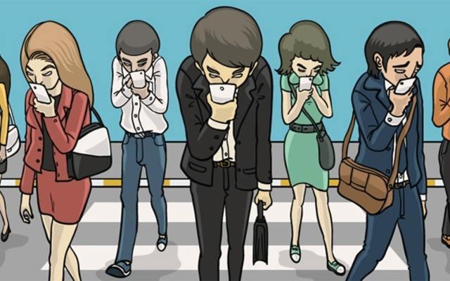اعتماد البشر بالكامل على الهواتف