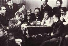 تشيخوف وفنانين من القرن التاسع عشر