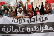 مظاهرات تنادي بالعلمانية في لبنان