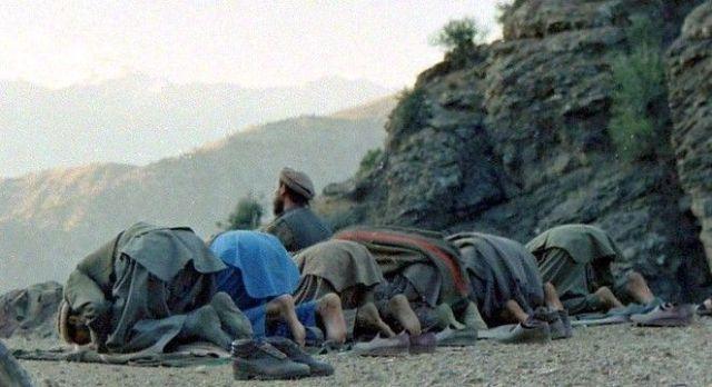الصلاة وحركة طالبان