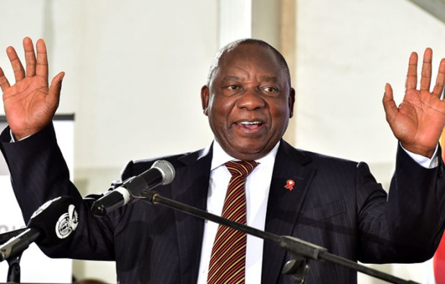 سيريل رامافوزا رئيس جنوب إفريقيا