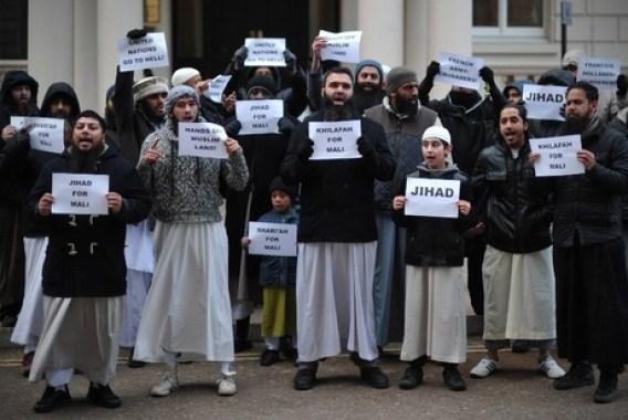 احتجاجات للإسلامويين في فرنسا