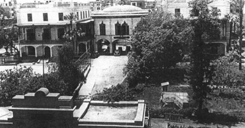 صورة قديمة لمدرسة التوفيقية
