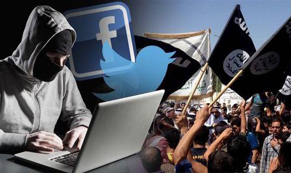 المحتوى الإرهابي على وسائل التواصل الاجتماعي