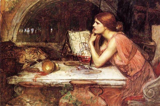 لوحة أوديسوس في قصر سيرسي لوليم شويرت