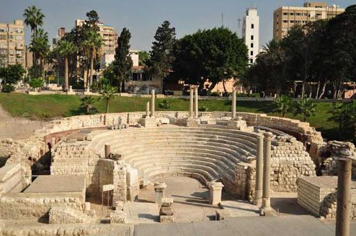 المسرح الروماني في الإسكندرية