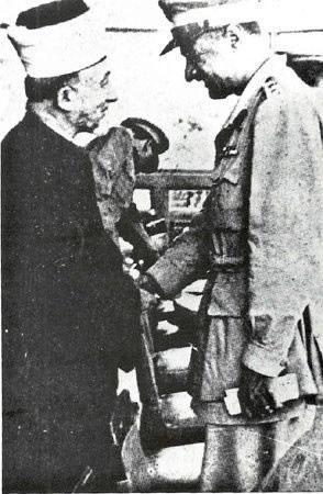 امين الحسيني وجمال عبد الناصر