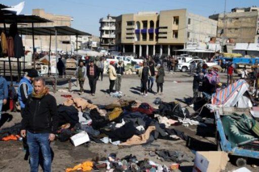 عملية انتحارية بغداد