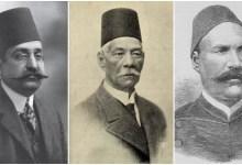 أحمد عرابي وسعد زغلول ومحمد فريد