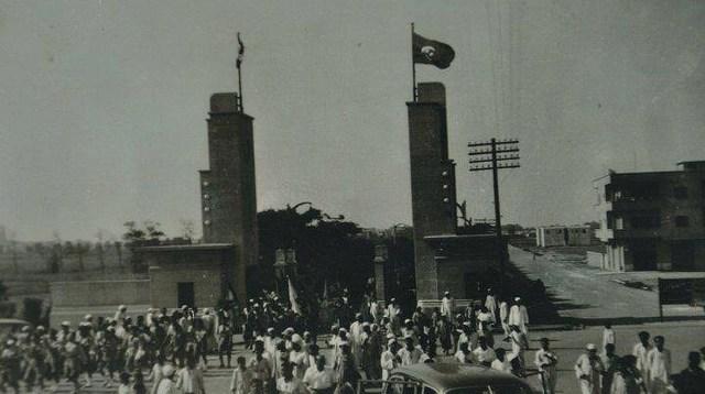 شركة مصر للغزل والنسيج بكفر الدوار في الخمسينات