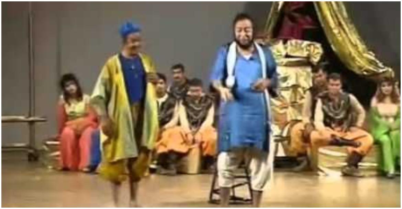 جانب من مسرحية الملك هو الملك لـ سعد الله ونوس