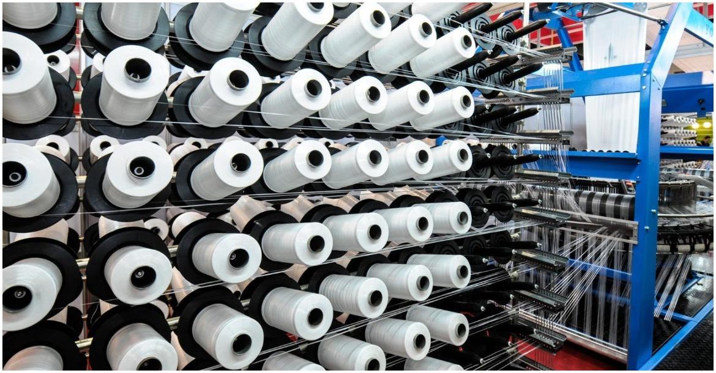 مصنع غزل ونسيج في مصر