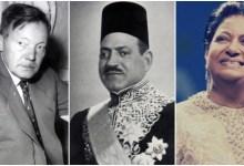 أم كلثوم والنحاس باشا وبيرم التونسي