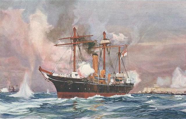 قصف الإسكندرية عام 1882