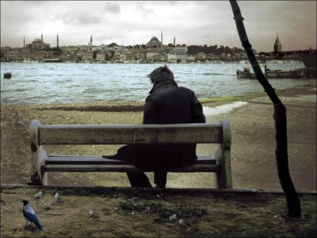 """مشهد من فيلم """"بعيد"""" لنوري جيلان"""