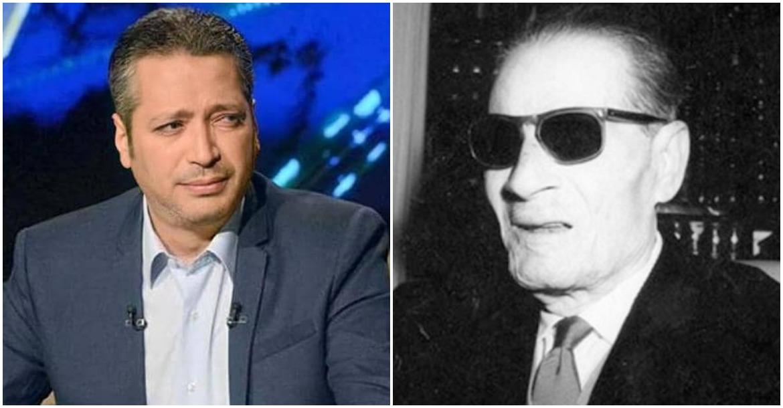 طه حسين وتامر أمين