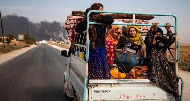 إعادة التوطين في شمال سوريا