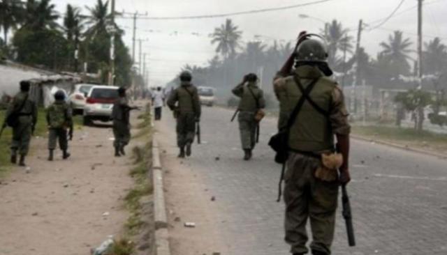 قوات الأمن في موزمبيق
