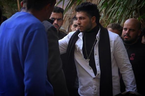 عمرو محمود ياسين من مسلسل اللي مالوش كبير