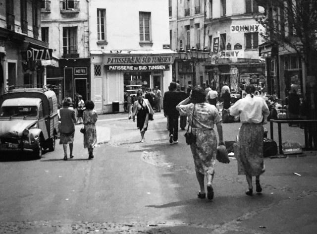 شوارع باريس في السبعينات