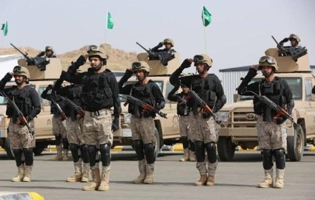 قوات من الجيش السعودي