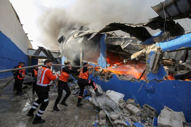 c8483تأثير قصف صواريخ غزة على الأراضي المحتلة37a96