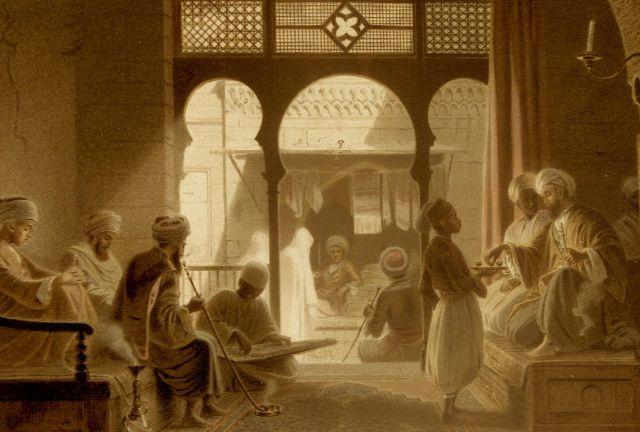 المقهي الثقافي في عصر المماليك