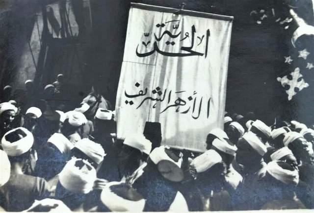 طلاب الأزهر ثورة 19