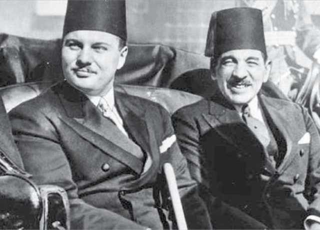 علي ماهر باشا والملك فاروق