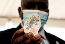 حجر ألماس في بوتسوانا