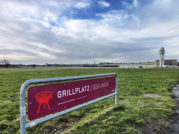 Tempelhof Airport in Berlin