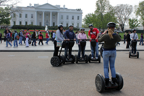 Eco friendly tour Washington DC Segway tours